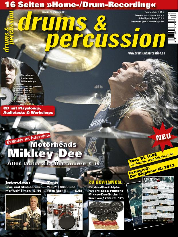 drums&percussion 1/2013