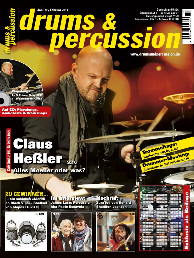 drums&percussion 1/2014