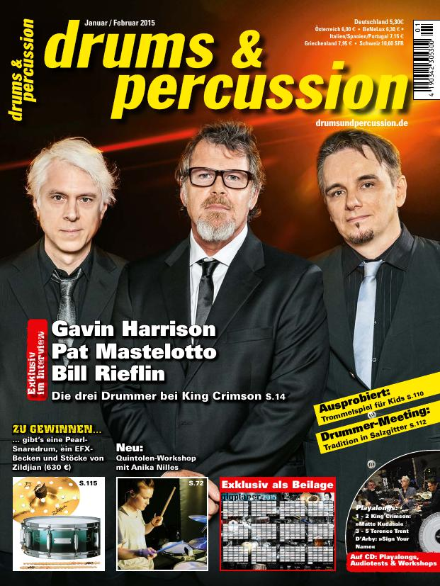 drums&percussion 1/2015