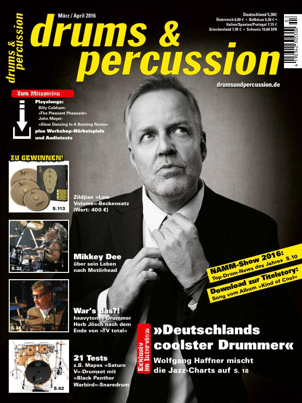 drums&percussion 2/2016