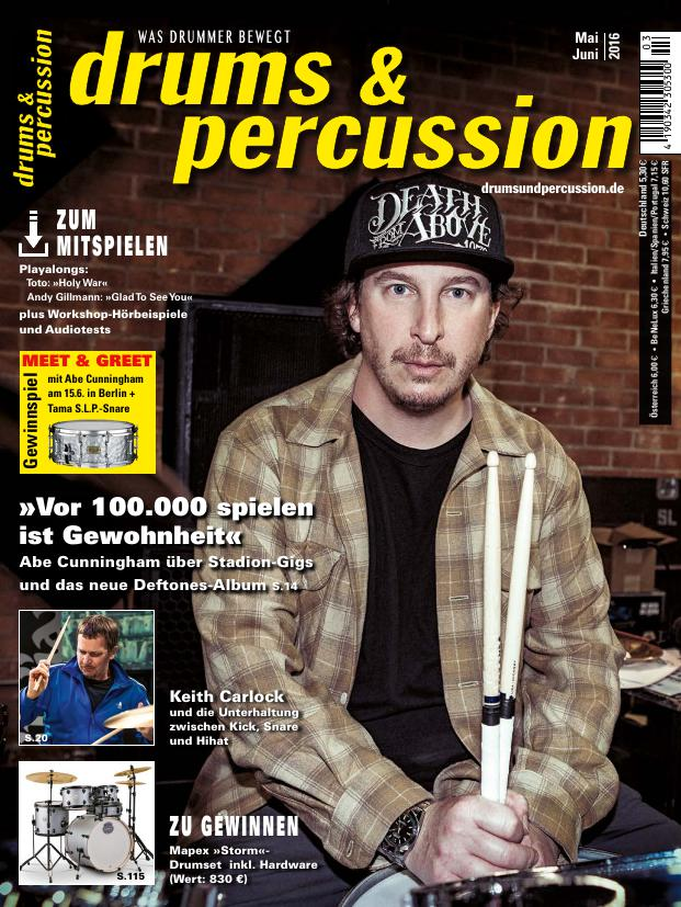 drums&percussion 3/2016