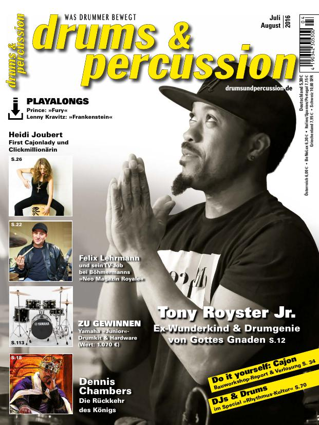 drums&percussion 4/2016