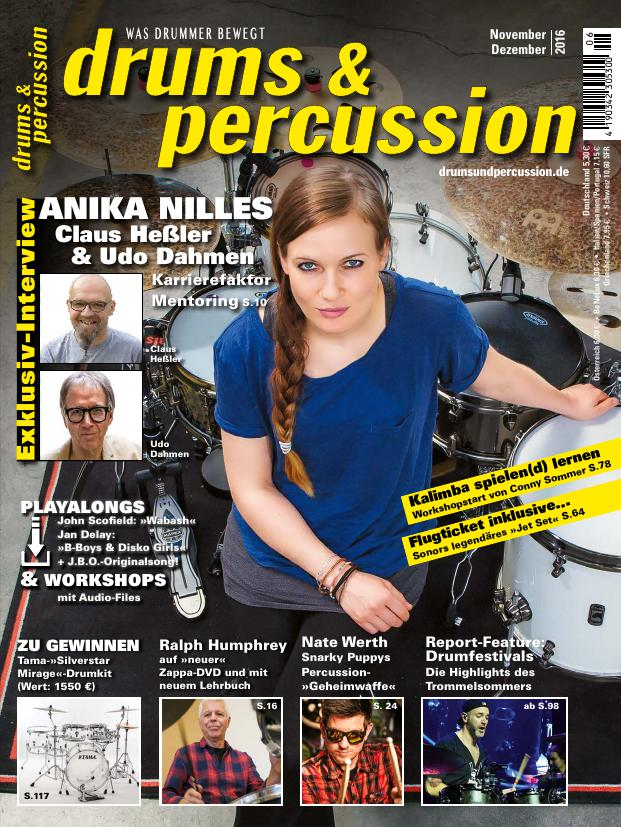 drums&percussion 6/2016