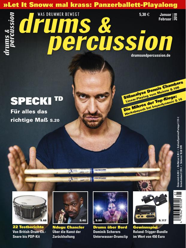 drums&percussion 1/2018